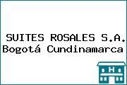 SUITES ROSALES S.A. Bogotá Cundinamarca
