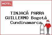 TINJACÁ PARRA GUILLERMO Bogotá Cundinamarca