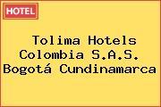 Tolima Hotels Colombia S.A.S. Bogotá Cundinamarca