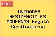 UNIDADES RESIDENCIALES MODERNAS Bogotá Cundinamarca