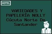 VARIEDADES Y PAPELERÍA NOLLY Cúcuta Norte De Santander
