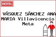 VÁSQUEZ SÁNCHEZ ANA MARIA Villavicencio Meta