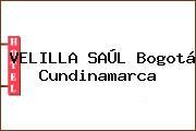 VELILLA SAÚL Bogotá Cundinamarca