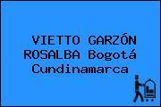 VIETTO GARZÓN ROSALBA Bogotá Cundinamarca