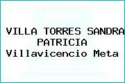VILLA TORRES SANDRA PATRICIA Villavicencio Meta