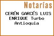 CERÉN GARCÉS LUIS ENRIQUE Turbo Antioquia