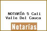 NOTARÍA 5 Cali Valle Del Cauca