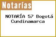 NOTARÍA 57 Bogotá Cundinamarca