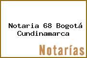Notaria 68 Bogotá Cundinamarca