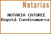 NOTARIA CATORCE Bogotá Cundinamarca