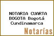NOTARIA CUARTA BOGOTA Bogotá Cundinamarca