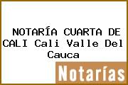 NOTARÍA CUARTA DE CALI Cali Valle Del Cauca