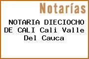 NOTARIA DIECIOCHO DE CALI Cali Valle Del Cauca