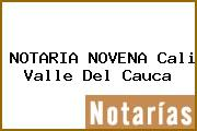 NOTARIA NOVENA Cali Valle Del Cauca