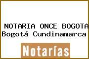 NOTARIA ONCE BOGOTA Bogotá Cundinamarca