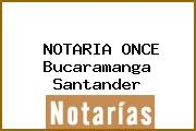 NOTARIA ONCE Bucaramanga Santander