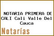 NOTARIA PRIMERA DE CALI Cali Valle Del Cauca