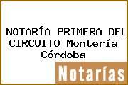 NOTARÍA PRIMERA DEL CIRCUITO Montería Córdoba