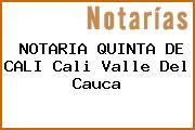 NOTARIA QUINTA DE CALI Cali Valle Del Cauca