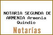 NOTARIA SEGUNDA DE ARMENIA Armenia Quindio