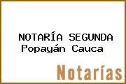 NOTARÍA SEGUNDA Popayán Cauca
