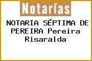 NOTARIA SÉPTIMA DE PEREIRA Pereira Risaralda