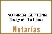 NOTARÍA SÉPTIMA Ibagué Tolima