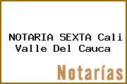 NOTARIA SEXTA Cali Valle Del Cauca