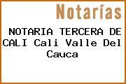 NOTARIA TERCERA DE CALI Cali Valle Del Cauca