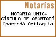 NOTARIA UNICA CÍRCULO DE APARTADÓ Apartadó Antioquia