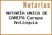 NOTARÍA UNICA DE CAREPA Carepa Antioquia