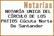 NOTARÍA UNICA DEL CÍRCULO DE LOS PATIOS Cúcuta Norte De Santander