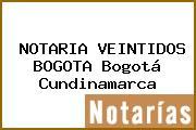 NOTARIA VEINTIDOS BOGOTA Bogotá Cundinamarca