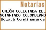 UNIÓN COLEGIADA DEL NOTARIADO COLOMBIANO Bogotá Cundinamarca