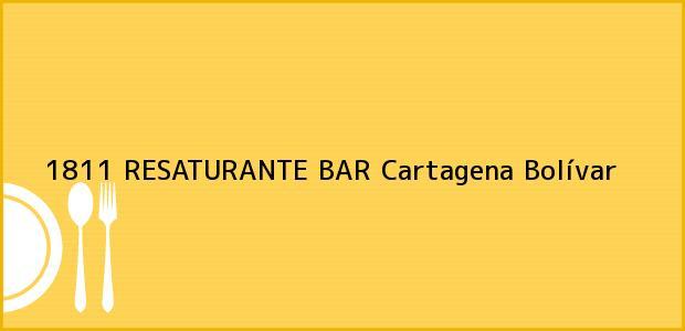 Teléfono, Dirección y otros datos de contacto para 1811 RESATURANTE BAR, Cartagena, Bolívar, Colombia
