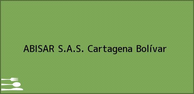 Teléfono, Dirección y otros datos de contacto para ABISAR S.A.S., Cartagena, Bolívar, Colombia