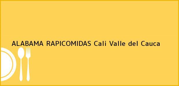 Teléfono, Dirección y otros datos de contacto para ALABAMA RAPICOMIDAS, Cali, Valle del Cauca, Colombia