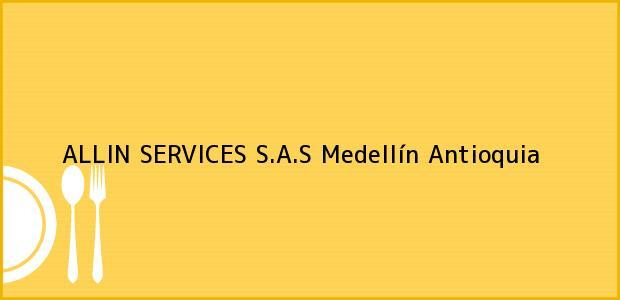 Teléfono, Dirección y otros datos de contacto para ALLIN SERVICES S.A.S, Medellín, Antioquia, Colombia