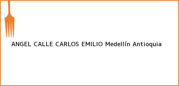 Teléfono, Dirección y otros datos de contacto para ANGEL CALLE CARLOS EMILIO, Medellín, Antioquia, Colombia