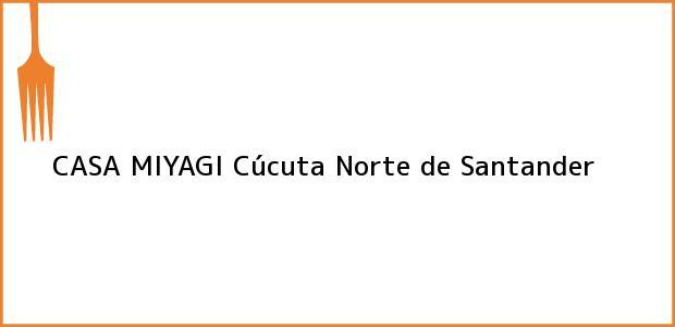 Teléfono, Dirección y otros datos de contacto para CASA MIYAGI, Cúcuta, Norte de Santander, Colombia