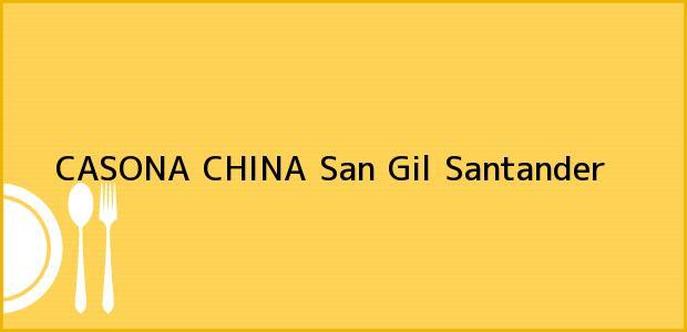 Teléfono, Dirección y otros datos de contacto para CASONA CHINA, San Gil, Santander, Colombia
