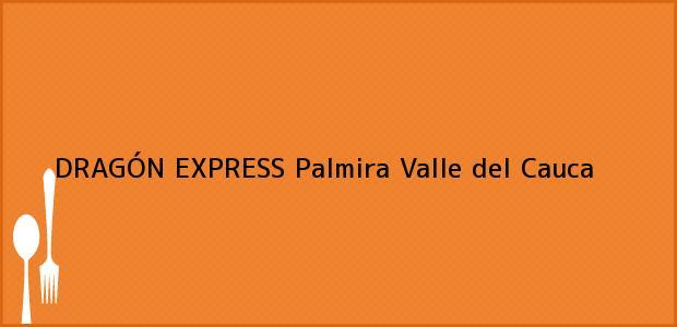Teléfono, Dirección y otros datos de contacto para DRAGÓN EXPRESS, Palmira, Valle del Cauca, Colombia