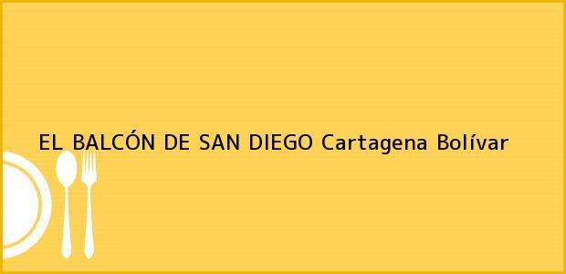 Teléfono, Dirección y otros datos de contacto para EL BALCÓN DE SAN DIEGO, Cartagena, Bolívar, Colombia