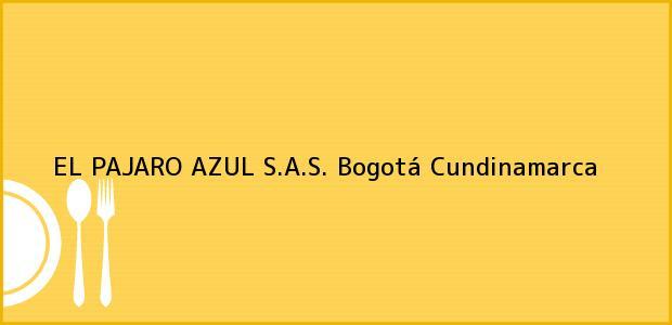 Teléfono, Dirección y otros datos de contacto para EL PAJARO AZUL S.A.S., Bogotá, Cundinamarca, Colombia
