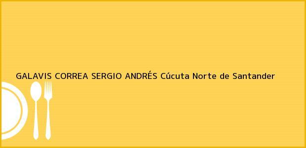 Teléfono, Dirección y otros datos de contacto para GALAVIS CORREA SERGIO ANDRÉS, Cúcuta, Norte de Santander, Colombia