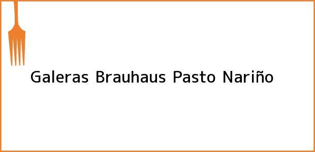 Teléfono, Dirección y otros datos de contacto para Galeras Brauhaus, Pasto, Nariño, Colombia
