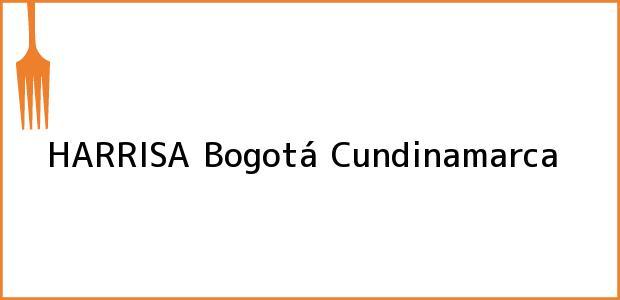 Teléfono, Dirección y otros datos de contacto para HARRISA, Bogotá, Cundinamarca, Colombia