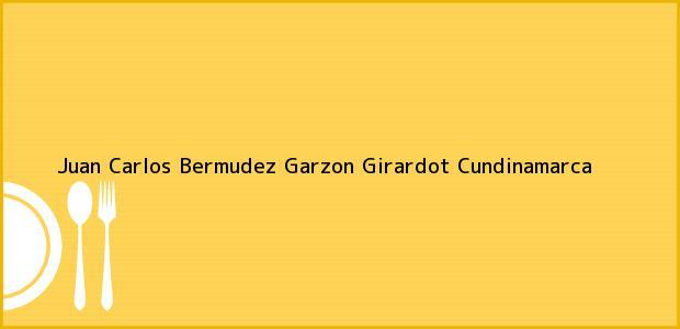 Teléfono, Dirección y otros datos de contacto para Juan Carlos Bermudez Garzon, Girardot, Cundinamarca, Colombia