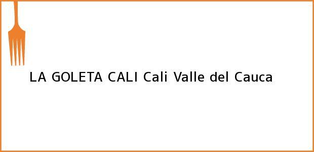 Teléfono, Dirección y otros datos de contacto para LA GOLETA CALI, Cali, Valle del Cauca, Colombia