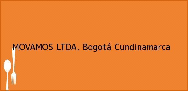 Teléfono, Dirección y otros datos de contacto para MOVAMOS LTDA., Bogotá, Cundinamarca, Colombia
